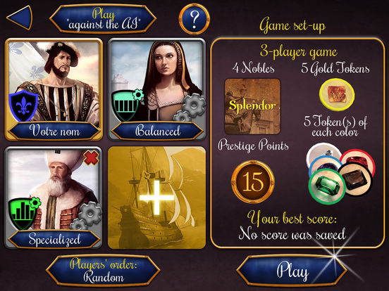 Splendor™ Screenshot