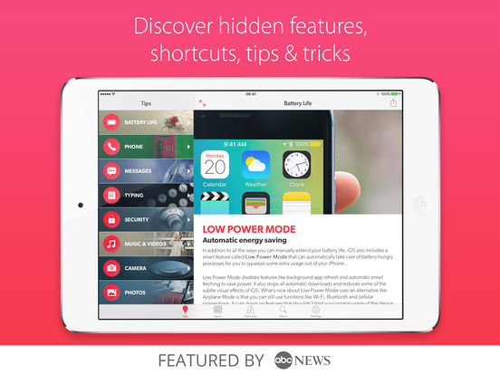Tips & Tricks - Secrets for iPhone (Pro Edition) Screenshots