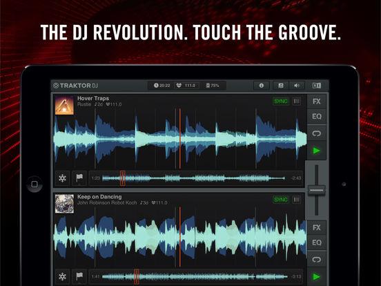 Traktor DJ IPA Cracked for iOS Free Download