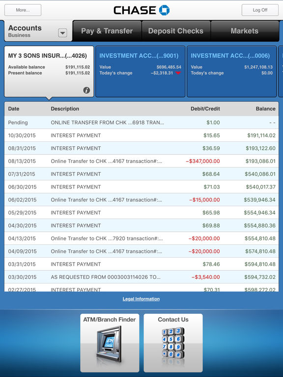 download chase online banking app