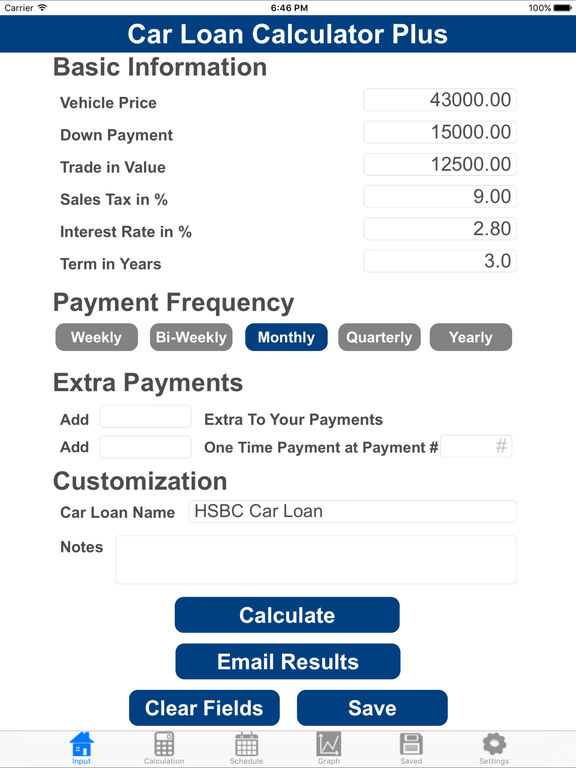 Car Loan Calculator With Extra Payments >> Calculate The Loan For Your Car Prestamos Ico Estudiantes