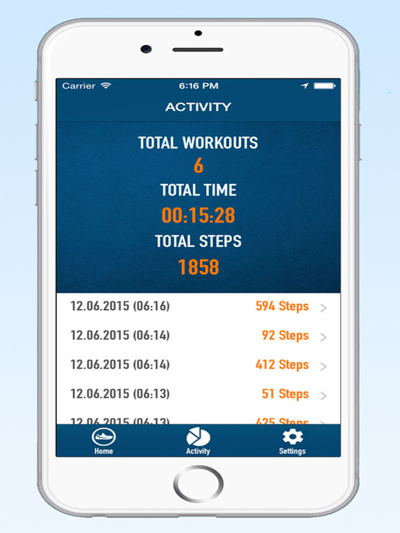 Walk Pedometer Step Counter and Weight Tracker on the App Store