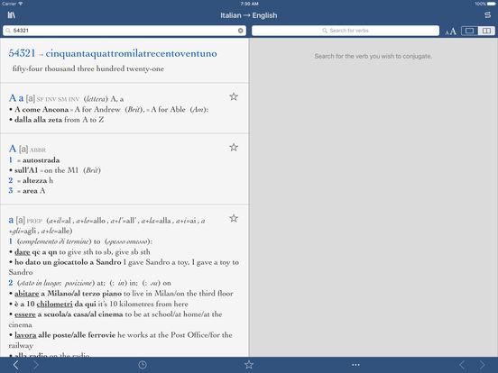 Italian Translation English To Italian: Collins Italian-English Translation Dictionary And Verbs