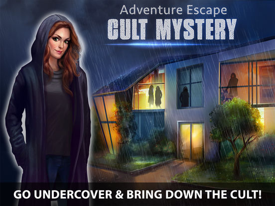 app shopper adventure escape cult mystery murder case. Black Bedroom Furniture Sets. Home Design Ideas