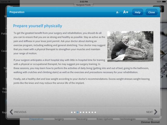 app shopper zimmer arthritis 411 medical. Black Bedroom Furniture Sets. Home Design Ideas