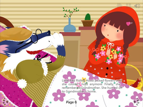 Little Red Riding Hood bedtime Fairy Tale iBigToy Screenshots