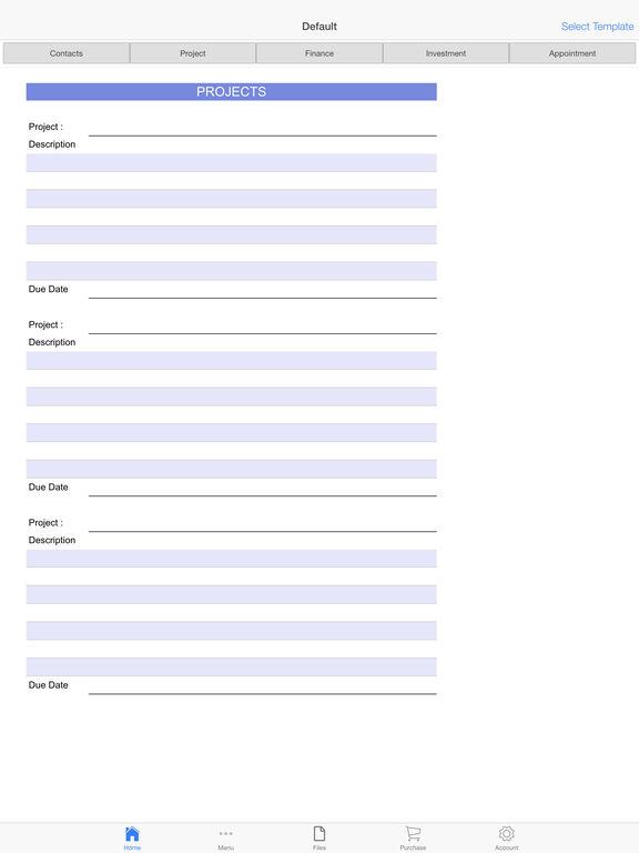 Business Organizer Screenshots