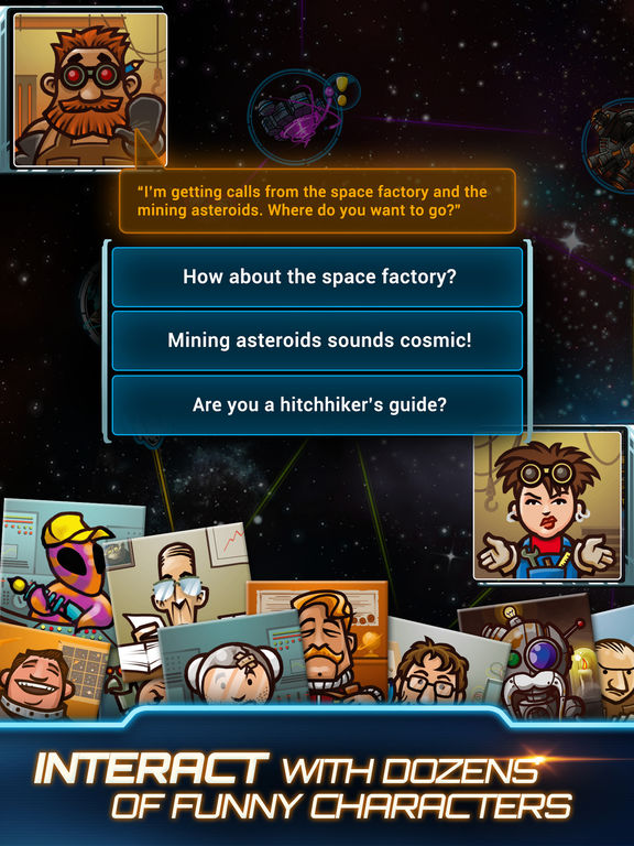 Galaxy Trucker Screenshot