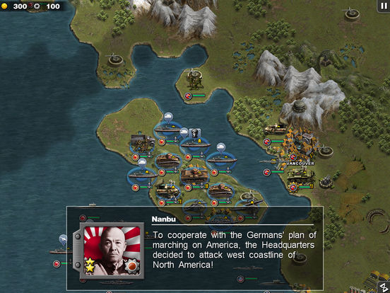 Glory of Generals: Pacific War Screenshot