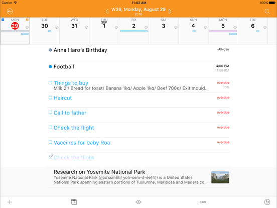 Awesome Calendar - Personal Planner Screenshot