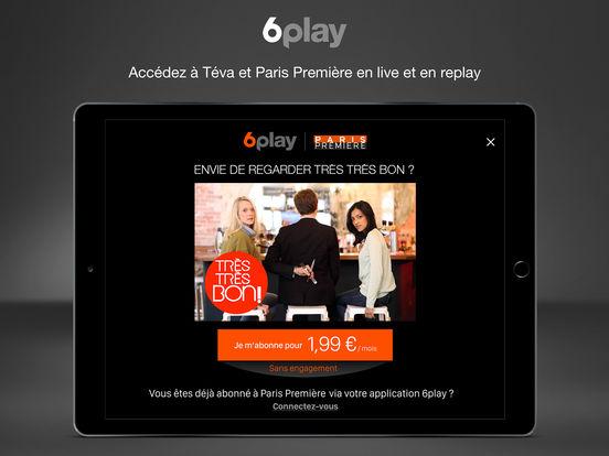 6play tv en direct et en replay on the app store. Black Bedroom Furniture Sets. Home Design Ideas