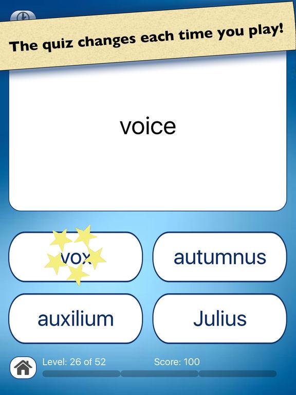 Latin Quiz Questions 46