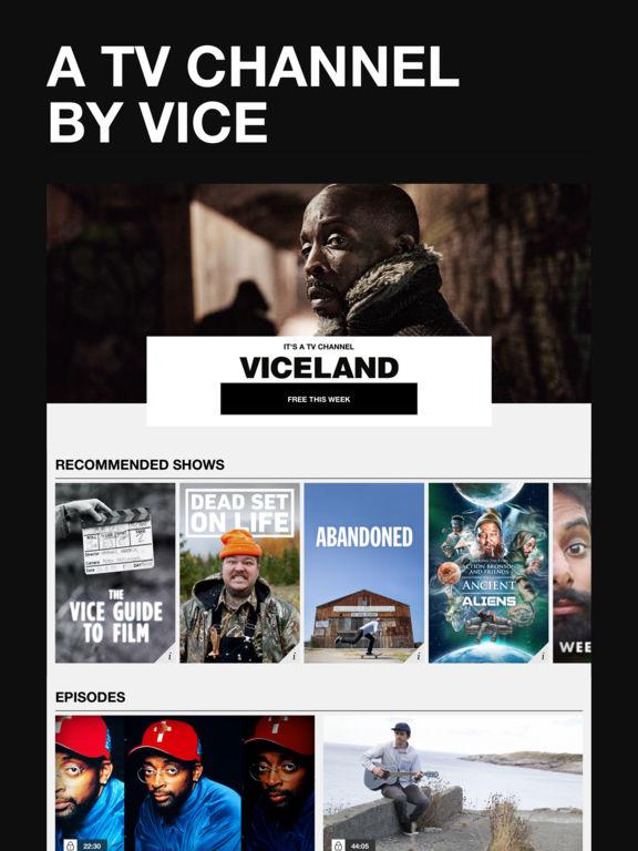 viceland on the app store. Black Bedroom Furniture Sets. Home Design Ideas