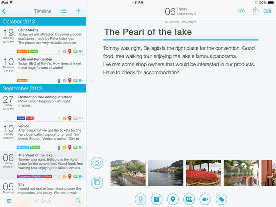 Journaling Apps for the iPad