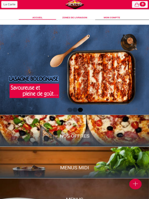 app shopper pizza king courbevoie shopping. Black Bedroom Furniture Sets. Home Design Ideas