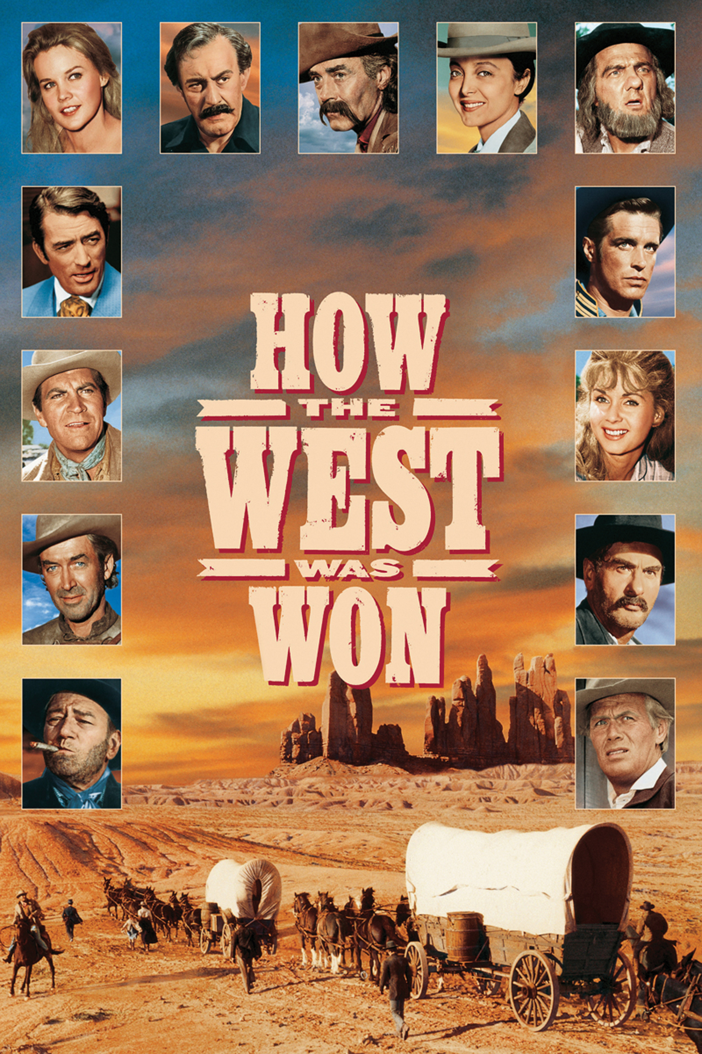 iTunes - Films - How the West Was Won (1962)